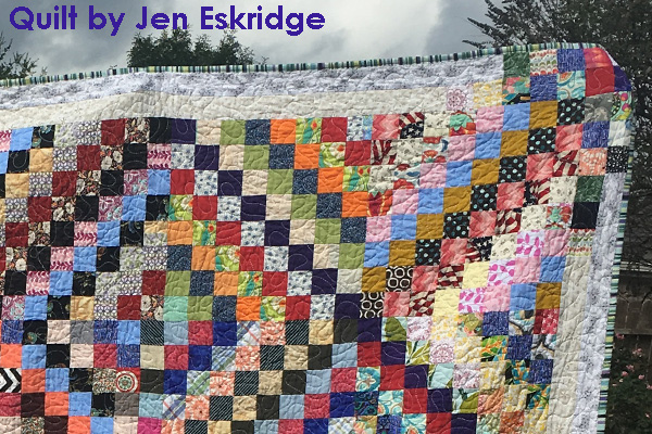 2002 Squares | Scrappy Trip Around The World | Jen Eskridge | ReannaLily Designs