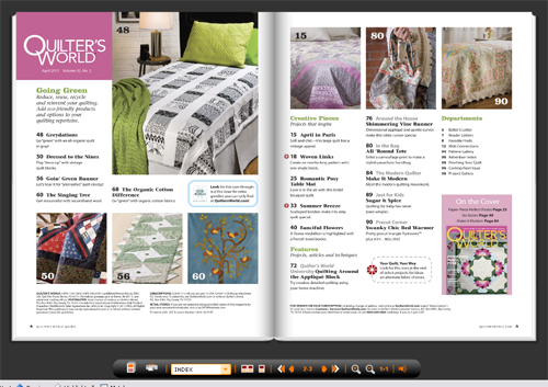 Table of Contents Quilter's World