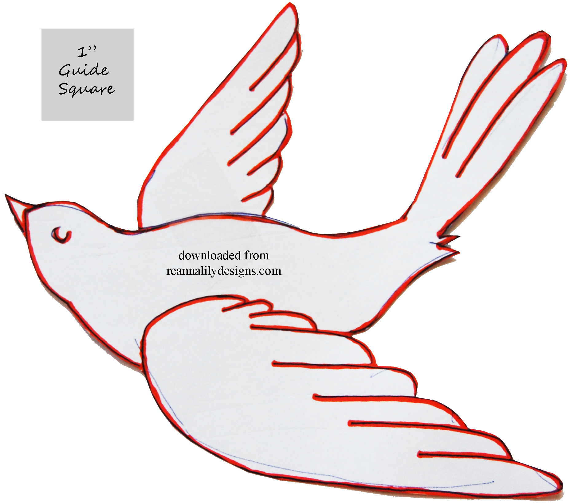 Bird Tracing Templates Pictures to Pin PinsDaddy – Bird Template