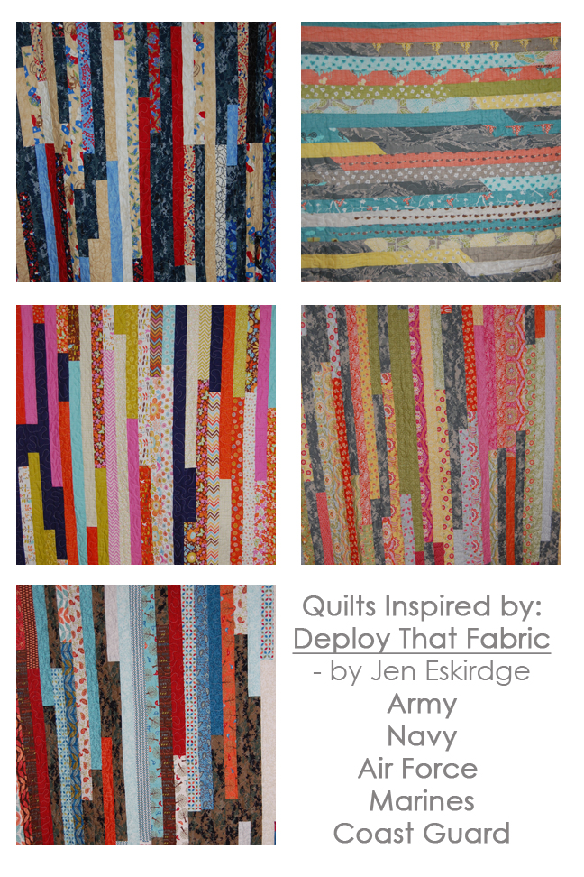 Military Uniform Quilt Collection
