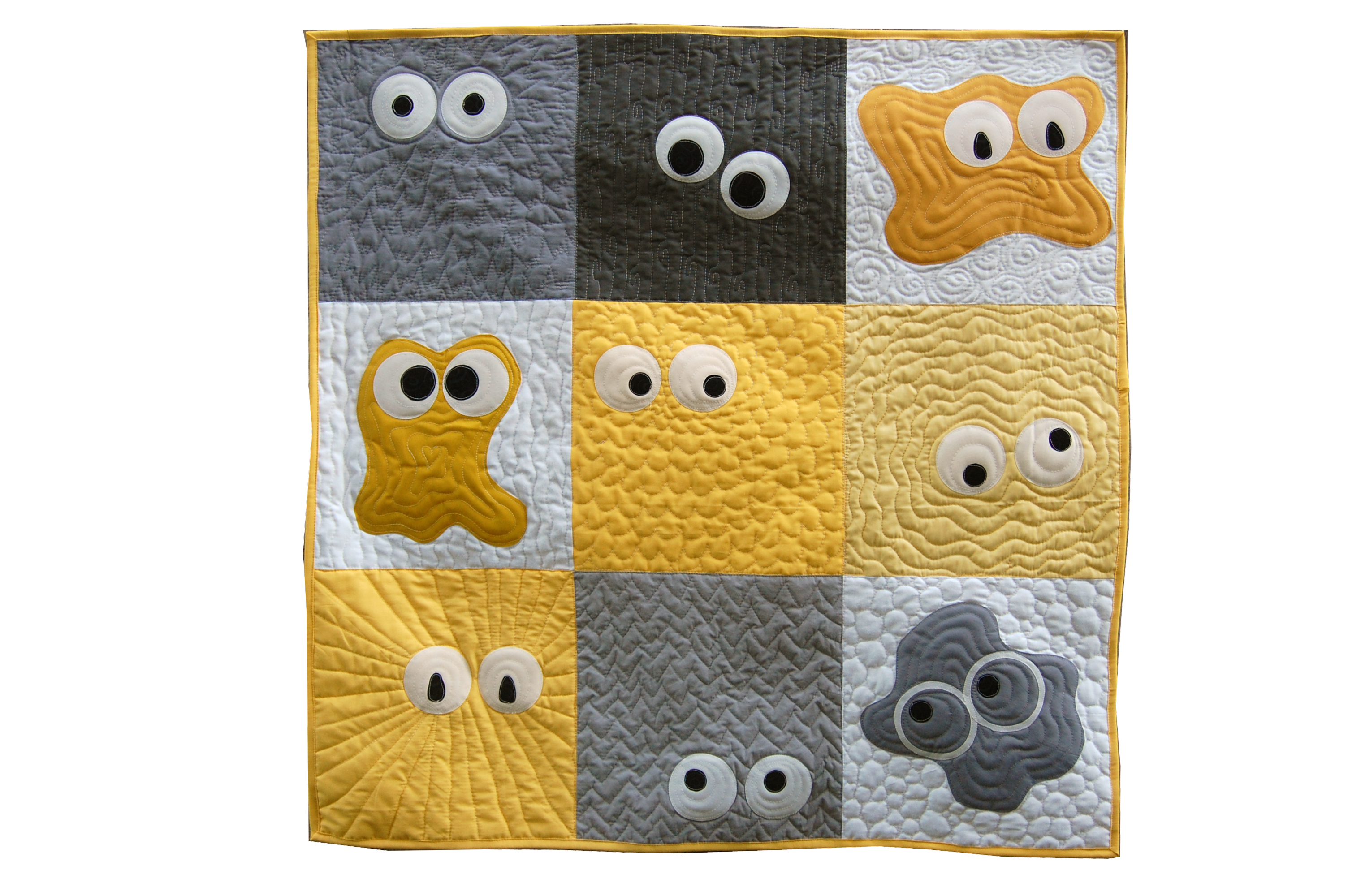 Monster Madness Quilt Pattern Reannalily Designs