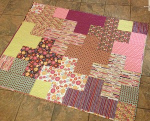 Quilting the Plus Quilt | ReannaLily Designs