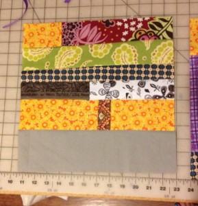 Ugly Fabric Challenge Block | SAMQG
