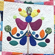 Vibrant Wild Birds: Applique Quilt