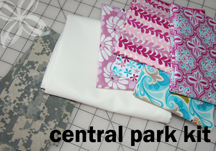 Home Front Snuggler Quilt- Central Park KIT