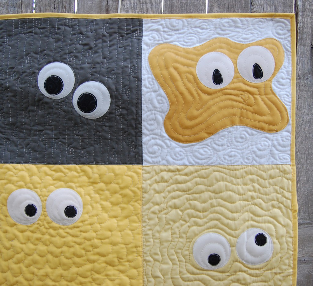 Monster Madness Quilt Pattern | ReannaLily Designs