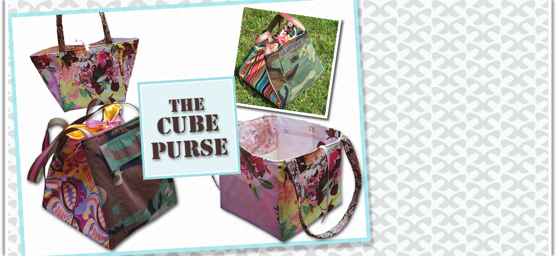 The Cube Purse Pattern