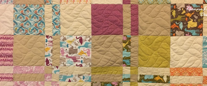 Disappearing 4-Patch With Layer Cakes