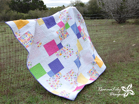 Lily and Loom | Boundless Fabric by Craftsy | ReannaLily Designs | Disappearing 9-Patch | Jen Eskridge