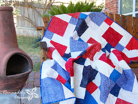 Disappearing 9-Patch with Layer Cakes | Jen Eskridge | ReannaLily Designs | Quilt Pattern