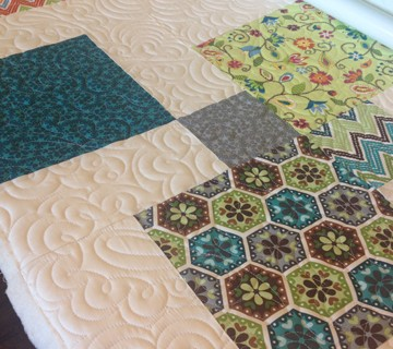 Disappearing 9-Patch – Longarm QUILTED