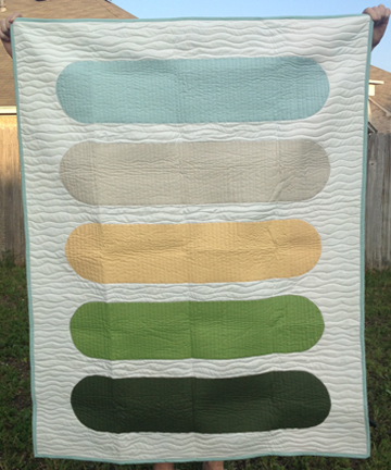 Basic Bars Quilt Pattern by Jen Eskridge | ReannaLily Designs
