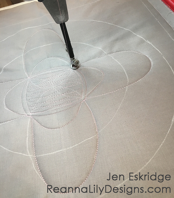 Free-Motion Framework Quilts- A Workshop by Jen Eskridge | ReannaLily Designs | ReannaLily Quilts | C&T PublishingFree-Motion Framework Quilts- A Workshop by Jen Eskridge | ReannaLily Designs | ReannaLily Quilts | C&T Publishing