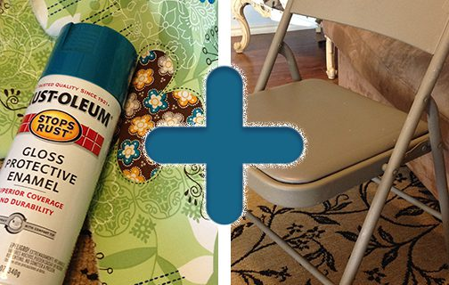 Folding Chair Makeover – DIY