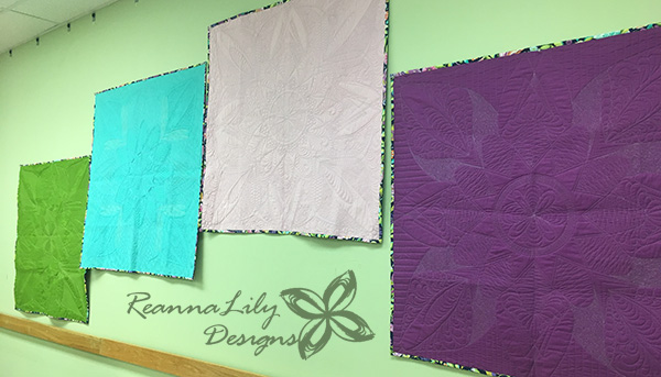 Free-Motion Framework By Jen Eskridge Trunk Show Quilts