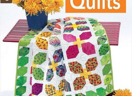 Stacked Circles in Fun Colorful Quilts by Leisure Arts