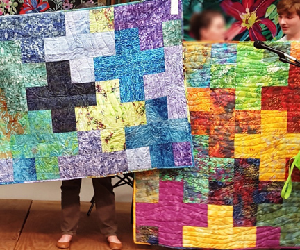 GSAQG | Plus Quilt | Bright Hope Committee | ReannaLily Designs