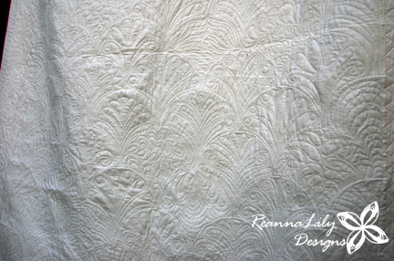 The Quilted Clamshell | Longram Quilting Designs by Jen Eskridge