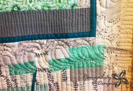 Free Motion Quilting | ReannaLily Designs | QuiltCon 2016 Entry