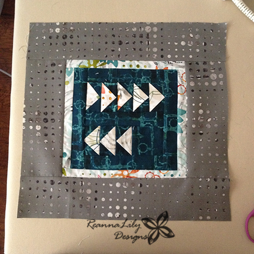 Project Quilting | Eight is Great | Jen Eskridge | ReannaLily Designs | Flying Geese
