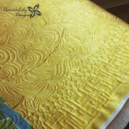 Longarm Quilting – Baby Boy Quilt