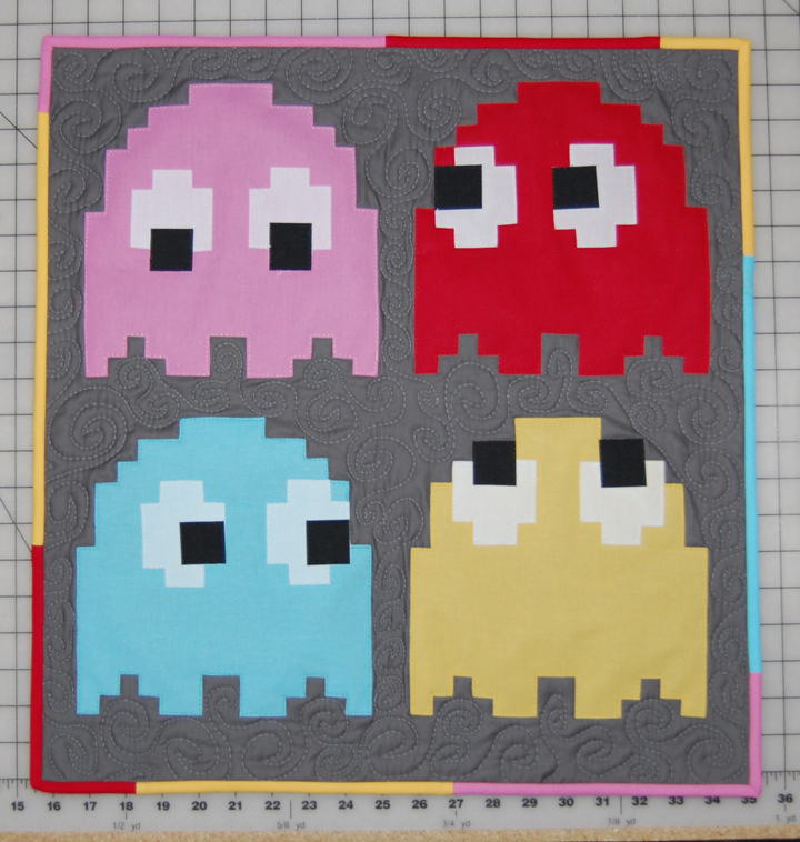 Pacman Ghosts | ReannaLily Designs