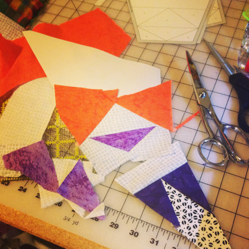 ReannaLily Designs | Celestial Star Pattern From Blank Pages | #celestialstarqal