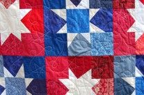 Patriotic Wonky Star Quilt Tutorial