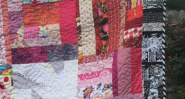 All The Pinks: Scrap Quilt