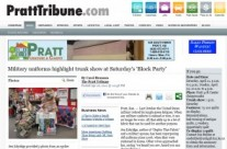 Pratt Tribune Article on ReannaLily Designs