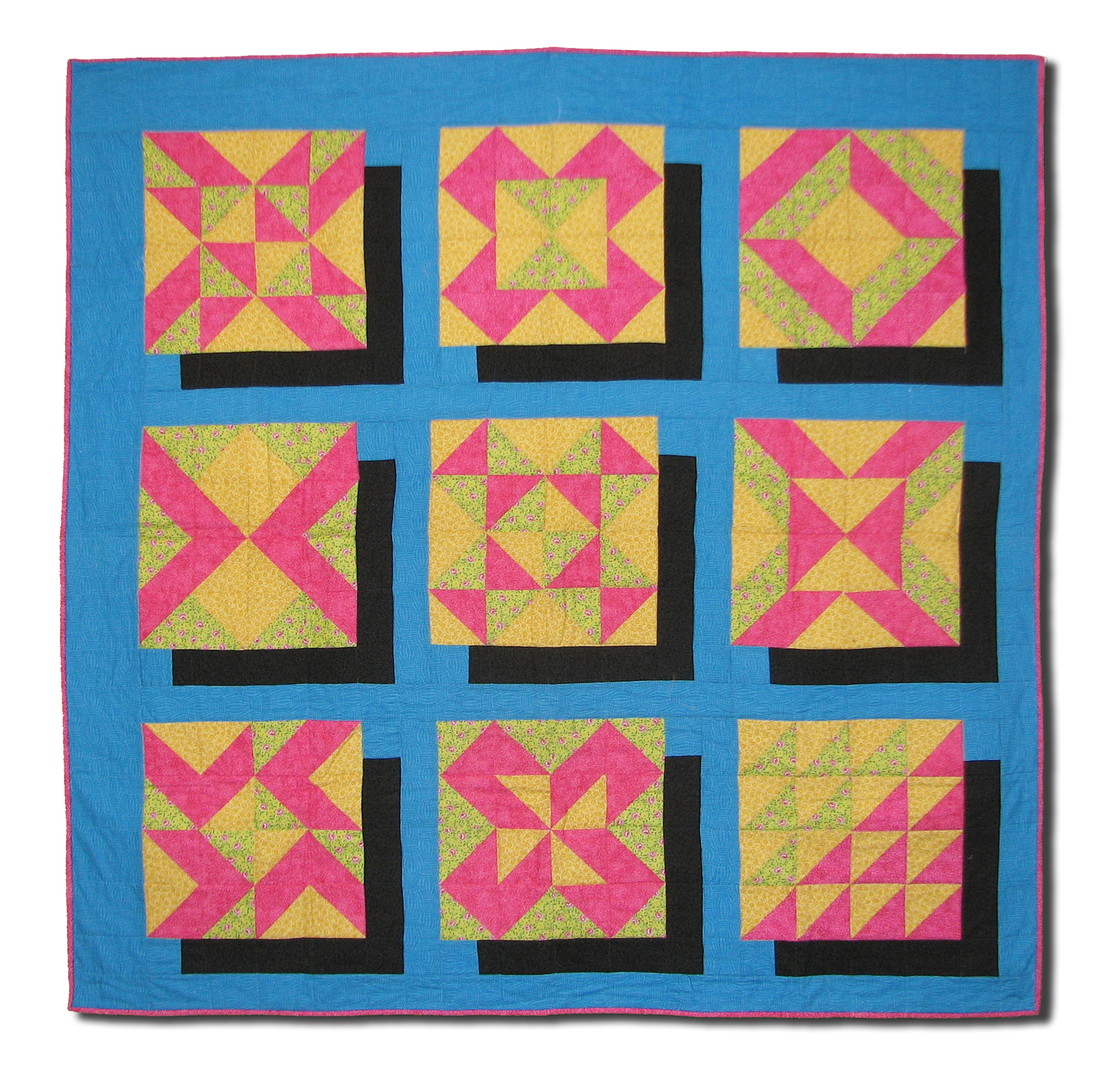 Quick 3D Sampler | Quilt Pattern | ReannaLily Designs