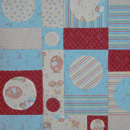 BABY QUILT PATTERNS WITH TEDDY BEARS Sewing Patterns for Baby