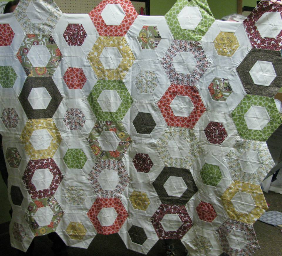 Hexagons Made Easy Trunk Show | ReannaLily Designs | Jen Eskridge