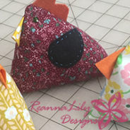 Chicken and Rooster Pincushion