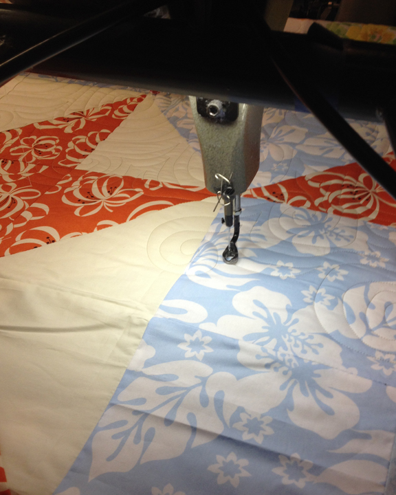 Quilting The Swoon Block Quilt | ReannaLily Designs