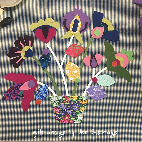 Wool Applique by Jen Eskridge | ReannaLily Designs