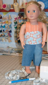 18? Doll Spring Clothes