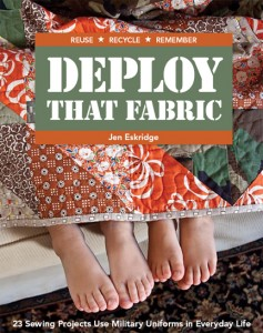Deploy That Fabric!  Book Cover Reveal!!!