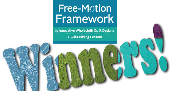 Free-Motion Framework Book Tour Winners