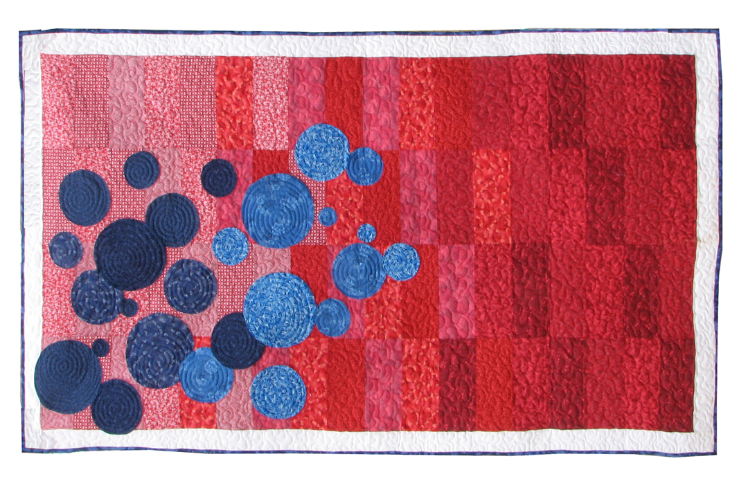 Floating Bubbles | Quilt Pattern | ReannaLily Designs
