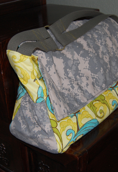 Military Mailbag | Purse Pattern | ReannaLily Designs