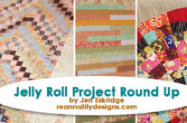 Celebrate National Sew A Jelly Roll Day