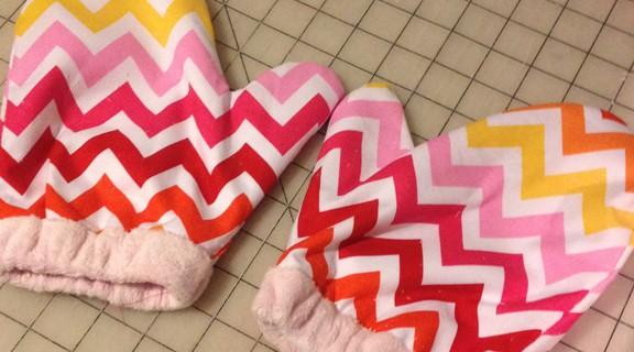 Small Sewn Gift Mittens