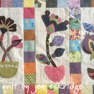 Woven and Felt Wool Applique
